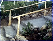 Hand Rails at Eden Project