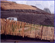 Picket Fencing at Eden Project